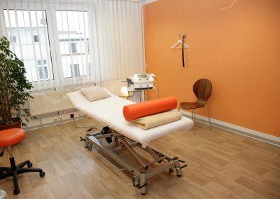 Behandlungsraum 2 © Physiotherapie Briesemeister und Domke 2018